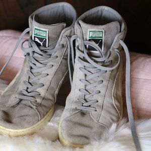 Puma Suede High Tops (size 10.5)